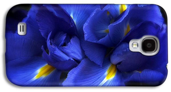 Recently Sold -  - Botanical Galaxy S4 Cases - Evening Iris Galaxy S4 Case by Jessica Jenney