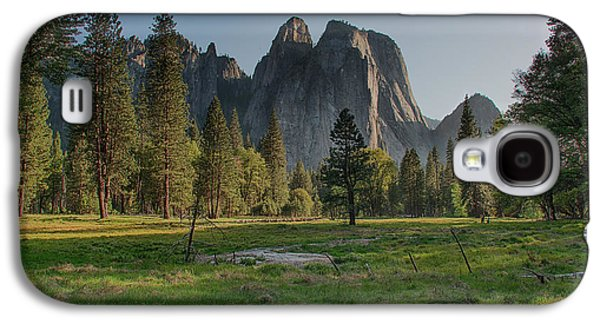 Cathedral Rock Galaxy S4 Cases - Evening Light Galaxy S4 Case by Bill Roberts