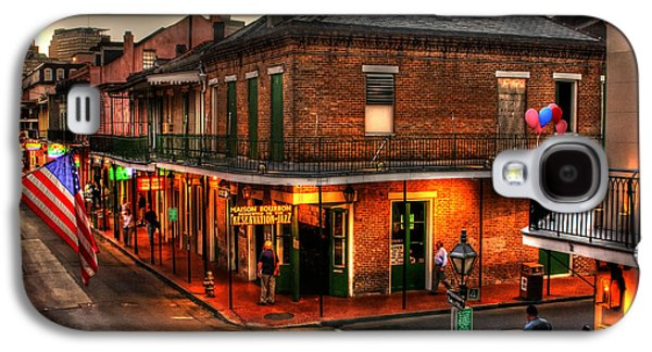 Jazz Galaxy S4 Cases - Evening on Bourbon Galaxy S4 Case by Greg and Chrystal Mimbs