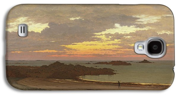Evening On The Coast Galaxy S4 Case by Frederick William Meyer