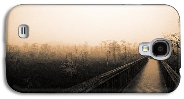 Cypress Swamp Galaxy S4 Cases - Everglades Boardwalk Galaxy S4 Case by Gary Dean Mercer Clark