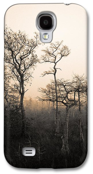 Cypress Swamp Galaxy S4 Cases - Everglades Cypress Stand Galaxy S4 Case by Gary Dean Mercer Clark
