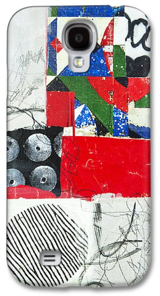 Avant Garde Mixed Media Galaxy S4 Cases - Everything Is Gonna Be Alright Galaxy S4 Case by Elena Nosyreva