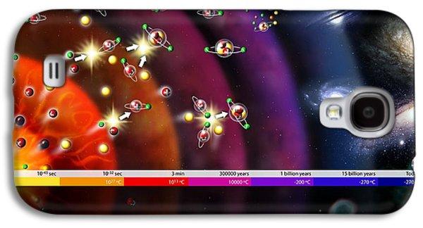 Cosmological Galaxy S4 Cases - Evolution Of The Universe, Artwork Galaxy S4 Case by Jose Antonio PeÑas
