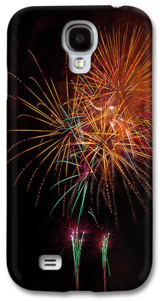 Exciting Fireworks Galaxy S4 Case by Garry Gay