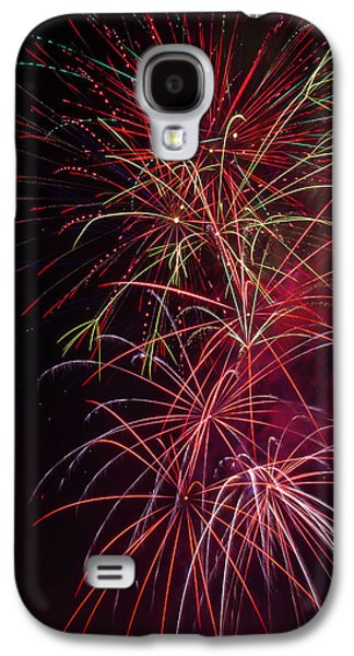 Exploding Festive Fireworks Galaxy S4 Case by Garry Gay