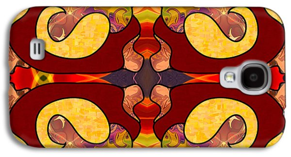 Exploring Consciousness Abstract Art By Omashte Galaxy S4 Case by Omaste Witkowski