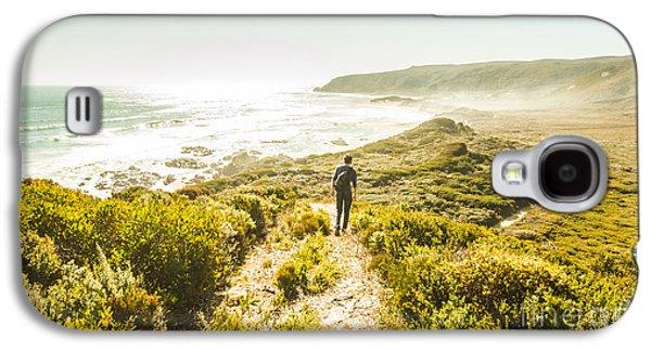 Exploring The West Coast Of Tasmania Galaxy S4 Case by Jorgo Photography - Wall Art Gallery