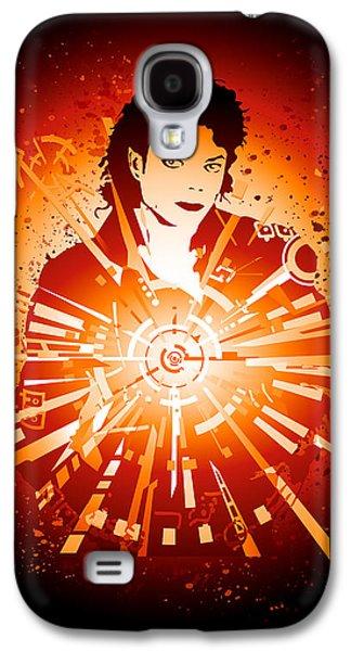 Jacko Galaxy S4 Cases - Energy Force of Michael Jackson Galaxy S4 Case by Adz Akin
