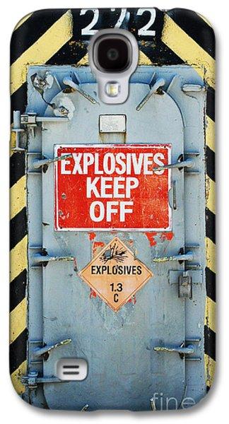 Shower Digital Galaxy S4 Cases - Explosives Door Keep Out Galaxy S4 Case by ArtyZen Studios - ArtyZen Home