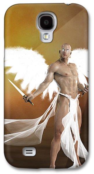 Exterminating Angel  Galaxy S4 Case by Quim Abella