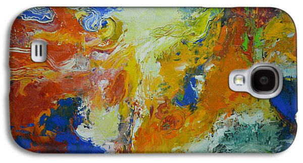 Abstract Movement Galaxy S4 Cases - Exuberance ll Galaxy S4 Case by Christopher Chua