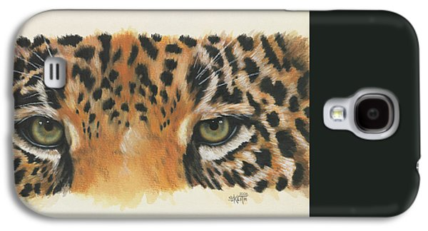 Galaxy S4 Cases - Eye-Catching Jaguar Galaxy S4 Case by Barbara Keith