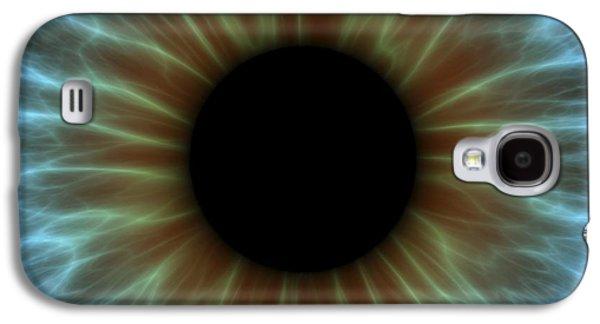 Twinkle Galaxy S4 Cases - Eye, Iris Galaxy S4 Case by Pasieka