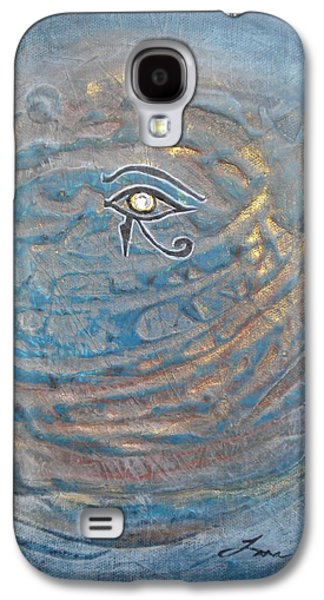 Eye Of Horus Galaxy S4 Case by Tara Arnold