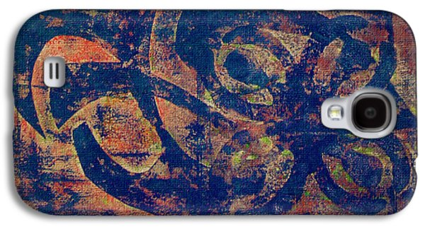 Blue Movement Galaxy S4 Case by M Images Fine Art Photography and Artwork