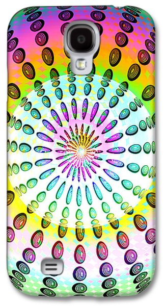 Abstract Digital Galaxy S4 Cases - EyeCandy Galaxy S4 Case by Anthony Caruso