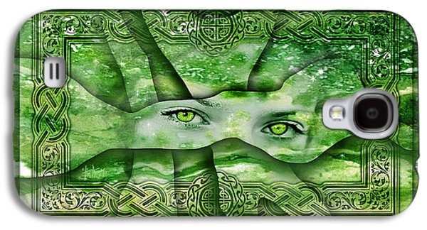 Religious Galaxy S4 Cases - Eyes of the Glade  Galaxy S4 Case by Tim Thomas