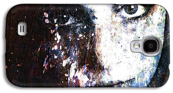 Photo Manipulation Mixed Media Galaxy S4 Cases - Face In A Dream Galaxy S4 Case by Marian Voicu