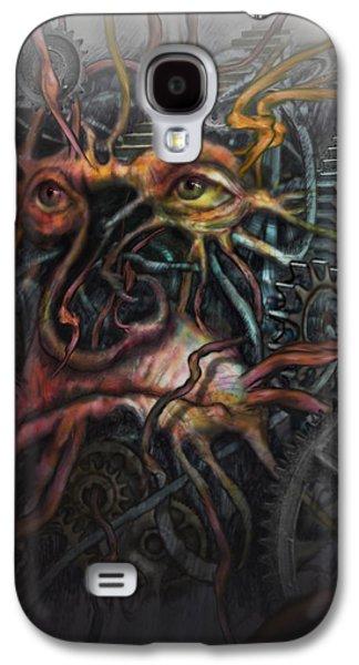 Gear Digital Galaxy S4 Cases - Face Machine Galaxy S4 Case by Frank Robert Dixon