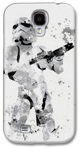Faceless Enforcer Galaxy S4 Case by Rebecca Jenkins