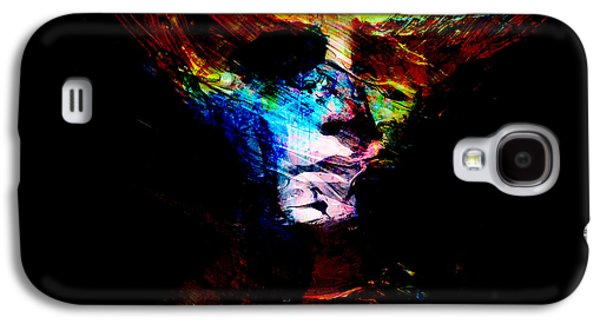 Abstract Digital Mixed Media Galaxy S4 Cases - Abstract Ghost Galaxy S4 Case by Marian Voicu