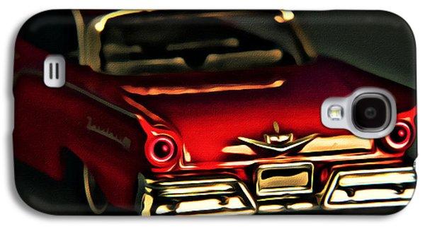 Mechanics Digital Galaxy S4 Cases - Fairlane 500 Galaxy S4 Case by Jeff  Gettis