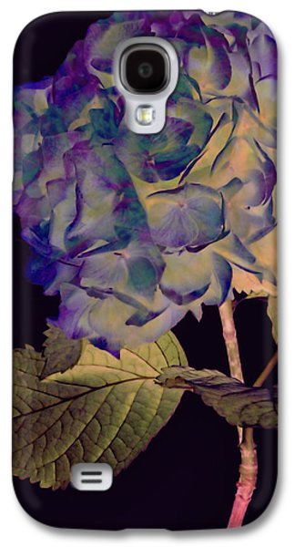 Botanical Galaxy S4 Cases - Fairy Hydrangea Galaxy S4 Case by Susan Maxwell Schmidt