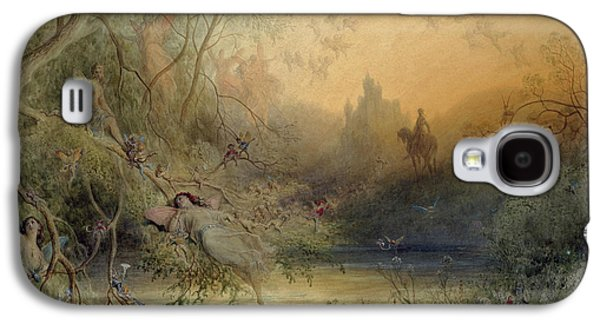 Fairy Land Galaxy S4 Case by Gustave Dore