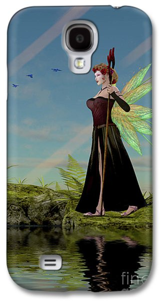Fairy Lillith By Pond Galaxy S4 Case by Corey Ford
