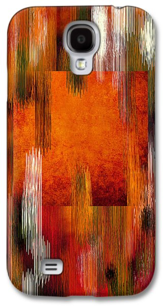 Nature Abstracts Galaxy S4 Cases - Fall Colors Abstract Galaxy S4 Case by Sheela Ajith