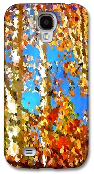 Spring Peepers Galaxy S4 Cases - Fall Colors Galaxy S4 Case by Sarah Jane Thompson