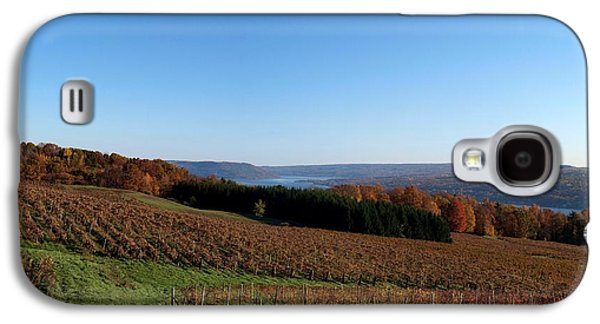 Keuka Galaxy S4 Cases - Fall in the Vineyards Galaxy S4 Case by Joshua House