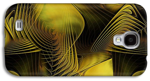 Fractal Pastels Galaxy S4 Cases - Fall Into Your Dream Galaxy S4 Case by Gayle Odsather