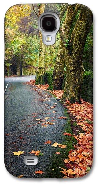 Fall Landscape Galaxy S4 Case by Carlos Caetano