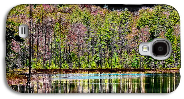 Surreal Landscape Galaxy S4 Cases - Fall Reflections Galaxy S4 Case by David Patterson