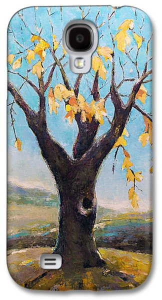 Fall Tree In Virginia Galaxy S4 Case by Becky Kim