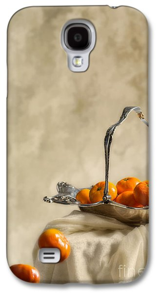 Orange Photographs Galaxy S4 Cases - Falling Oranges Galaxy S4 Case by Amanda And Christopher Elwell