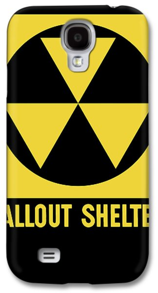 Fallout Shelter Sign Galaxy S4 Case by War Is Hell Store
