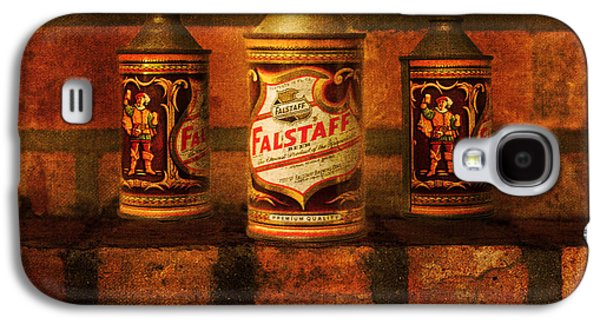 Food And Beverage Tapestries - Textiles Galaxy S4 Cases - Falstaff Trio Galaxy S4 Case by James Hennis