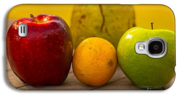 Food And Beverage Tapestries - Textiles Galaxy S4 Cases - Family of Fruit Galaxy S4 Case by James Hennis