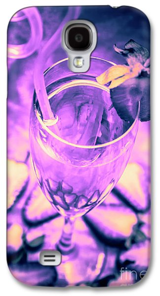 Fancy Champagne With Sliced Strawberries Galaxy S4 Case by Jorgo Photography - Wall Art Gallery