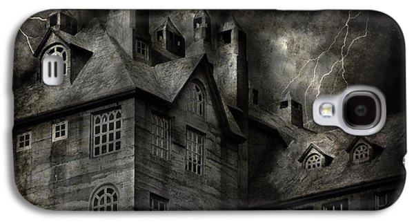 Fantasy - Haunted - It Was A Dark And Stormy Night Galaxy S4 Case by Mike Savad
