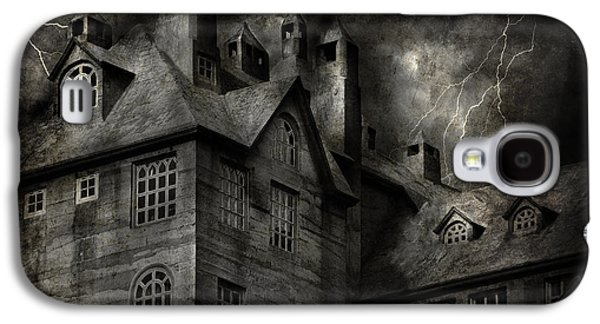 Recently Sold -  - Fantasy Photographs Galaxy S4 Cases - Fantasy - Haunted - It was a dark and stormy night Galaxy S4 Case by Mike Savad