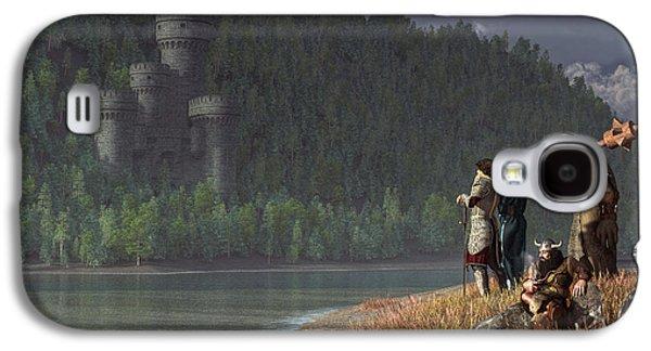 Rpg Galaxy S4 Cases - Fantasy Quest Galaxy S4 Case by Daniel Eskridge