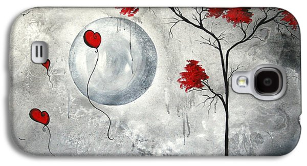 Gothic Paintings Galaxy S4 Cases - Far Side of the Moon by MADART Galaxy S4 Case by Megan Duncanson