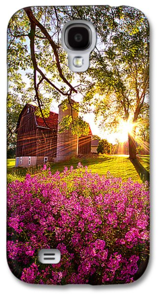 Light Galaxy S4 Cases - Farm Fresh Galaxy S4 Case by Phil Koch