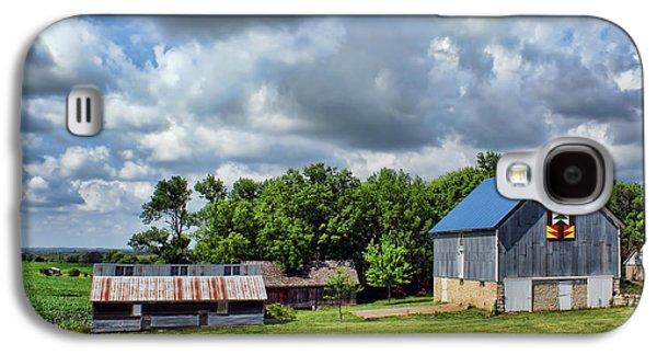 Farm Scene - Barns - Nebraska Galaxy S4 Case by Nikolyn McDonald