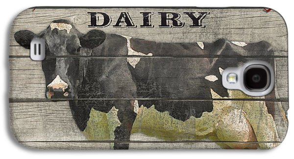 Locally Grown Galaxy S4 Cases - Farm to Table Dairy-JP2629 Galaxy S4 Case by Jean Plout