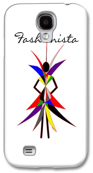 Fashionista Galaxy S4 Case by Methune Hively